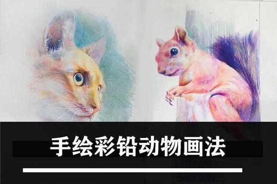 如何畫手繪彩鉛?動物彩鉛畫法!