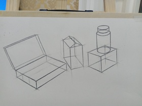 《幾何體形練習》By mllau85