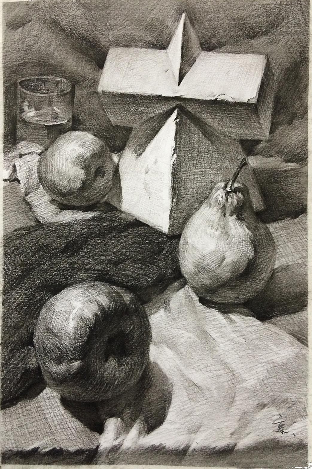 美術素描繪畫基本技巧有哪些