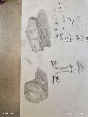 《素描人物五官練習》By 深愛不如酒伴安