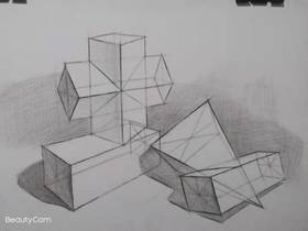 《幾何體畫法》By xuhuahui
